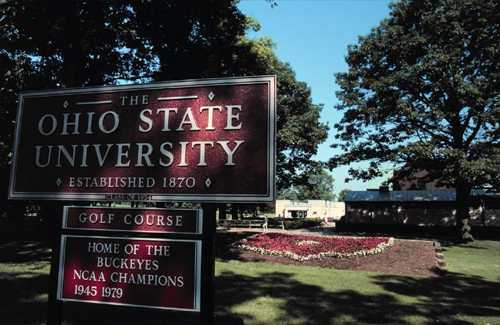 gray course at ohio state university in columbus  course osu course entrance