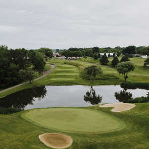 EagleSticks GC: 10th green