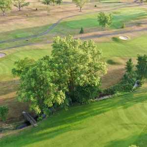 Loudon Meadows GC: Aerial