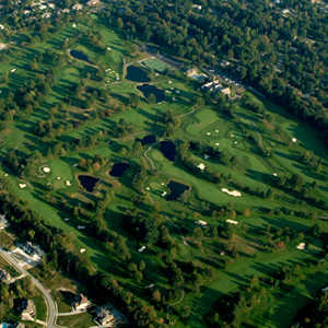 Tippecanoe CC: aerial view
