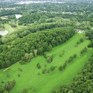 Little Met GC: Aerial view