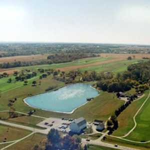 Hidden Lake GC: aerial view