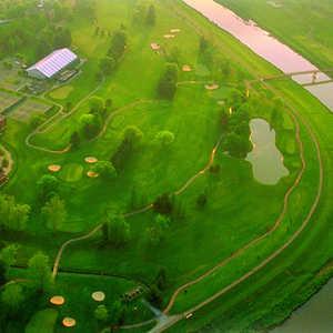 Ohio University GC: Aerial view