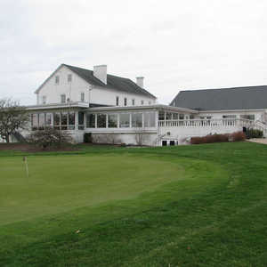Snow Hill CC: clubhouse