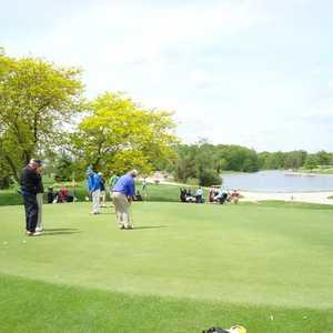 Auglaize GC: putting green