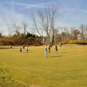Golden Tee at Tri-County GC: practice area