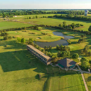 The Golf Center at SportsOhio - Wee Links: Aerial view