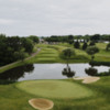 View of the 10th green from EagleStick Golf Club