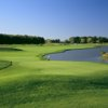 A view of the 18th green at Stone Ridge Golf Club.