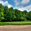A view of the 10th green at Windmill Lakes Golf Club.