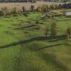 Approach to the 4th hole at Grey Hawk Golf Club.