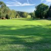 View from a green at Forest Hills Golf Course.