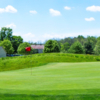 A view of a green at Fowler's Mill Golf Course.