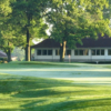 A view of a hole at Clovernook Country Club.