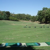 A view of the driving range tees at Western Hills Country Club
