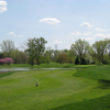 A spring view of a fairway at Toledo Country Club