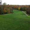 A fall view from tee #11 at Cassel Hills Golf Course.