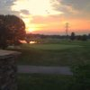 A sunset view from Royal American Links Golf Club.