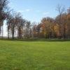 A view of a fairway at Stone Ridge Golf Club