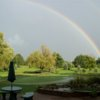 A rainbow view from Edgewater Golf Club