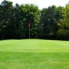 A view of the 7th green at Salt Fork State Park Golf Course