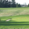 A view of a green at Pleasant Valley Golf Course.