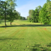A view from a tee at Clinton Heights Golf Course