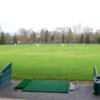 A view from the driving range tees at Paul Tesslers Golf Learning Center