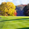 A view of a green at Dayton Country Club