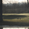 A view over the water from Twin Run Golf Course