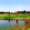 A fall view from Briarwood Golf Course