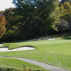 View of the 9th green at Hawthorne Valley Country Club