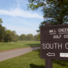 A view from South at Mill Creek Park Golf Course