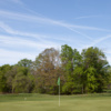 A view of a green at Mill Creek Park Golf Course