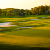 A view of the 9th hole at Glenmoor Country Club