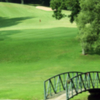 A view over a bridge at Sunnyhill Golf & Recreation