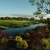 A view of the 14th green at Four Bridges Country Club