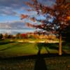 A fall day view from Four Bridges Country Club