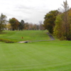 A view of a green at Lost Nation Golf Course