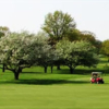A spring view from Ohio State University Golf Course