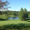 View of a green at St. Denis Golf Course