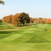 A fall day view from a tee at Canterbury Golf Club