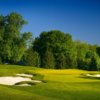 A view of green #17 from West at Firestone Country Club