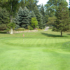 A view of hole #1 at Youngstown Country Club