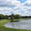 A sunny day view from Shaker Run Golf Club.