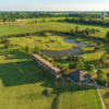 Aerial view of Wee Links Course from The Golf Center at SportsOhio