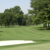 A view of a fairway at Portage Country Club.