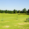 A view of the driving range tees at Bent Tree Golf Club
