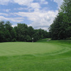 A view of the 14th green at Granville Golf Course