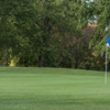 View of a green at Pine Brook Golf Links.